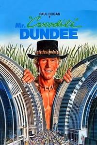 copertina film Mr.+Crocodile+Dundee 1986
