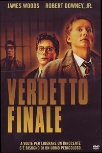 copertina film Verdetto+finale 1989