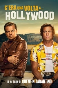 copertina film C%E2%80%99era+una+volta+a%E2%80%A6+Hollywood 2019
