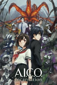 copertina serie tv A.I.C.O.+Incarnation 2018