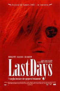 copertina film Last+Days 2005