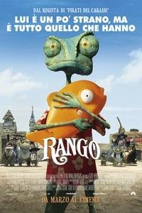 copertina film Rango 2011