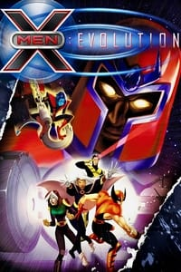 copertina serie tv X-Men%3A+Evolution 2000