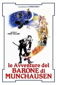 copertina film Le+avventure+del+Barone+di+Munchausen 1988