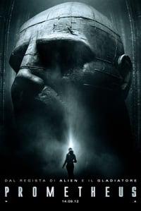 copertina film Prometheus 2012