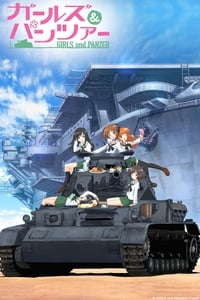 copertina serie tv Girls+und+Panzer 2012
