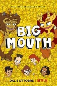 copertina serie tv Big+Mouth 2017