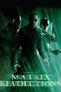 copertina film Matrix+Revolutions 2003