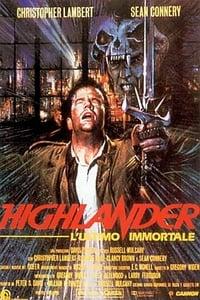 copertina film Highlander+-+L%27ultimo+immortale 1986