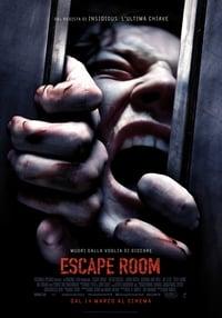 copertina film Escape+Room 2019
