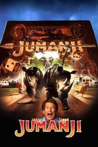 copertina film Jumanji 1995