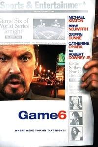 copertina film Game+6 2005