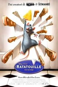 copertina film Ratatouille 2007