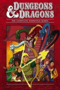 copertina serie tv Dungeons+%26+Dragons 1983