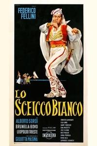 Белый шейх - постер