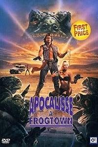 copertina film Apocalisse+a+Frogtown+-+La+citt%C3%A0+delle+rane 1988