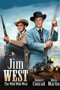 copertina serie tv Selvaggio+west 1965