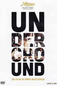 copertina film Underground 1995