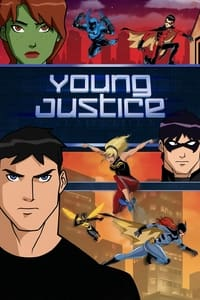 copertina serie tv Young+justice 2010