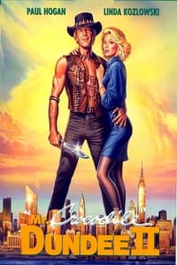 copertina film Mr.+Crocodile+Dundee+II 1988