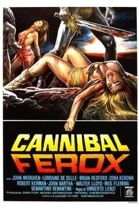 copertina film Cannibal+Ferox 1981