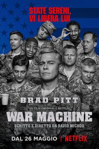 copertina film War+Machine 2017