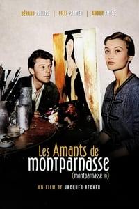 copertina film Gli+amori+di+Montparnasse 1958