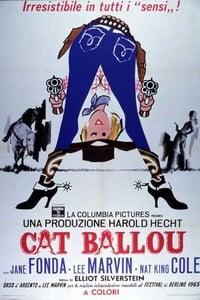 copertina film Cat+Ballou 1965