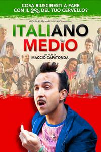 copertina film Italiano+medio 2015