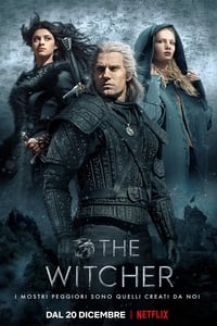 copertina serie tv The+Witcher 2019