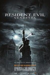 copertina film Resident+Evil%3A+Vendetta 2017