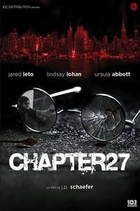 copertina film Chapter+27 2007