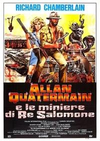 copertina film Allan+Quatermain+e+le+miniere+di+re+Salomone 1985