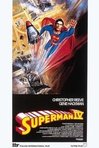copertina film Superman+IV 1987