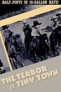 copertina film The+Terror+of+Tiny+Town 1938