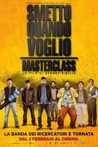 copertina film Smetto+quando+voglio+-+Masterclass 2017