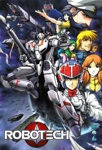 copertina serie tv Robotech 1985
