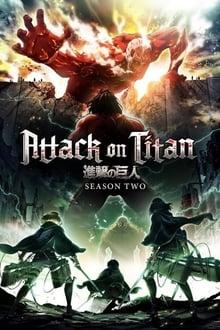 Attack on Titan 2ª Temporada poster, capa, cartaz