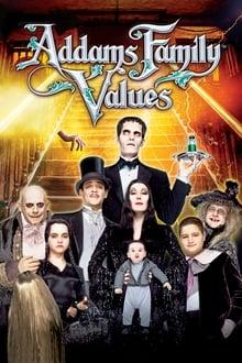 Adamsų šeimynėlės vertybės