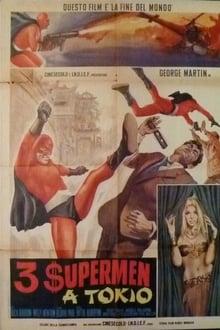 3 superhombres en Tokio (1968)
