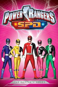 Power Rangers S.P.D. Μεταγλωτισμένο