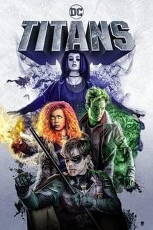 DC Titans 1ª Temporada poster, capa, cartaz