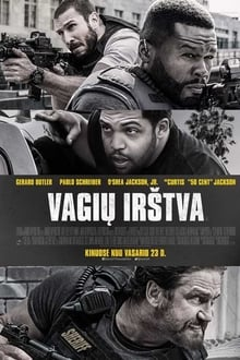 Vagių irštva / Den of Thieves (2018) online