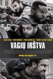 Vagių irštva / Den of Thieves (2018)