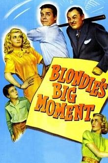 Blondie's Big Moment