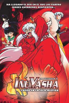 Inuyasha, la película 4: Fuego en la Isla Mística (2004)