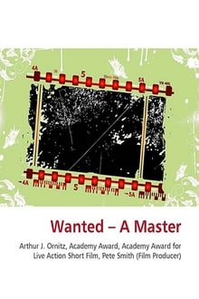 Wanted -- A Master