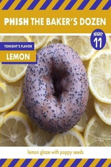 Phish The Baker's Dozen Night 11 Lemon