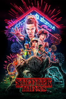 poster Stranger Things 3ª Temporada Completa Torrent