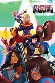 Marvel Rising Secret Warriors (2018) Dual Audio Hindi-English x264 Esubs Bluray 480p [259MB] | 720p [901MB] mkv